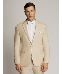 ORLANDO Square Weave Plain Slim Fit Jacket