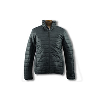 LOCKIE Puffer Zip Casual Jacket
