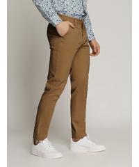 LEDGER Peach Finish Fine Cotton Drill Chinos (MUSTARD)