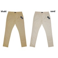 COOPER Fine Cotton Drill Regular Fit Chinos (SAND)