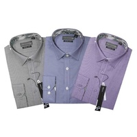 DOMONIC Houndstooth Yarn Dyed Shirt