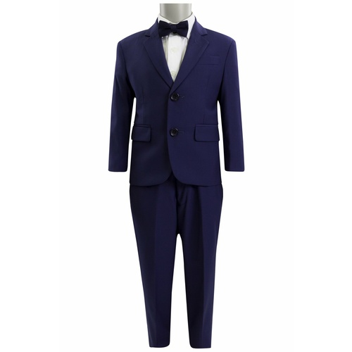 Scuzzatti Modern Fit Kids French Blue Suit