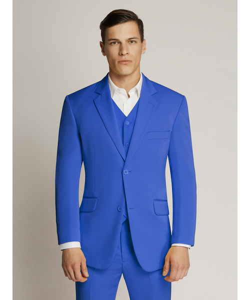 Vegas Fine Twill Microfibre Jacket Royal Blue