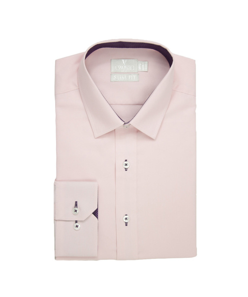 Nathan Oxford Cotton Shirt Pink