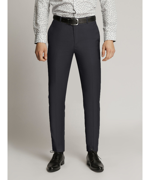 James Fine Twill Trousers Charcoal